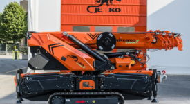 JEKKO bundelt innovaties in zijn nieuwe SPX650 5 ton model